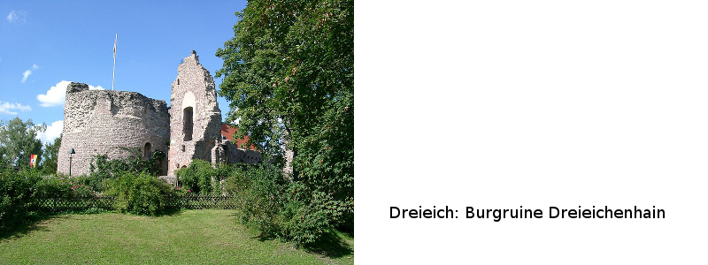 Burgruine Dreieichenhain
